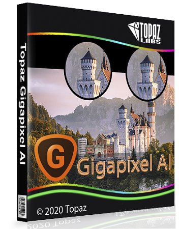 Topaz Gigapixel AI 5.4.3 [24.01.2021] (2021) PC En | RePack & Portable by TryRooM