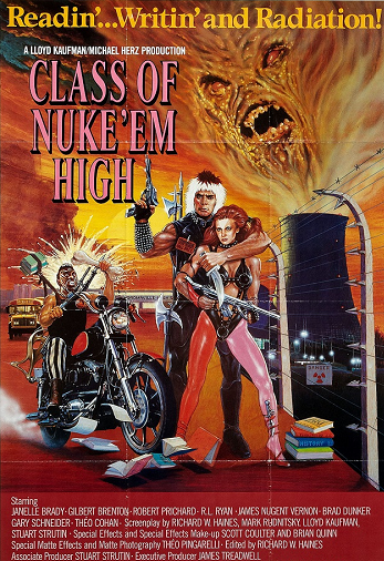 Атомная школа / Class of Nuke 'Em High (1986) BDRip 1080р