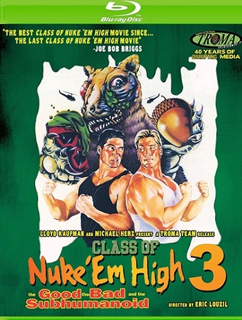 Атомная школа 3 / Class of Nuke 'Em High Part 3: The Good, the Bad and the Subhumanoid (1994) BDRip 1080р