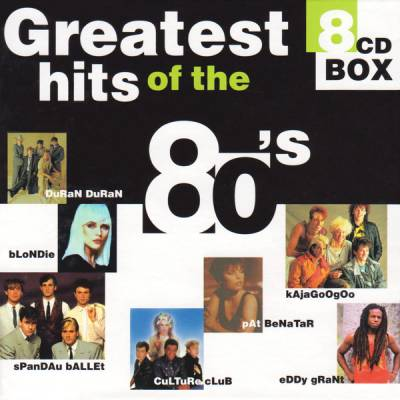 VA - Greatest Hits Of The 80's (8CD Box) (1998) MP3