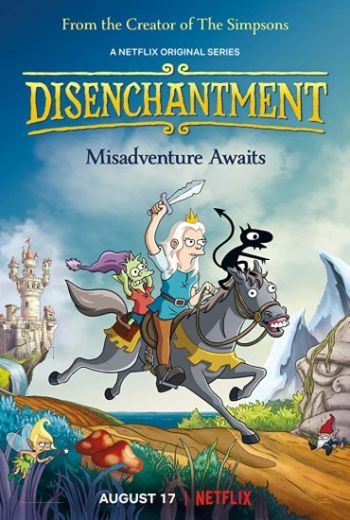 Разочарование / Disenchantment [S01-03] (2018-2021) WEB-DLRip | Пифагор